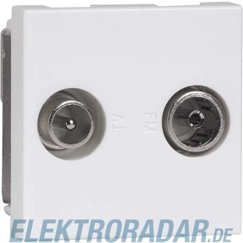 Peha Antennen-Steckdose alu D 2721.70 E