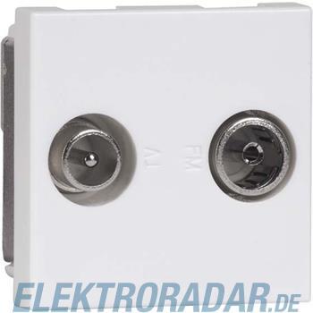 Peha Antennen-Steckdose alu D 2721.70 G