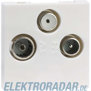 Peha Antennen-Steckdose alu D 2723.70 E
