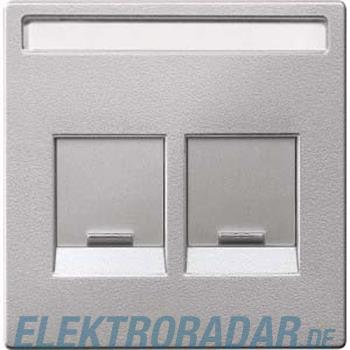 Merten Zentralplatte 2f.alu MEG4564-0460
