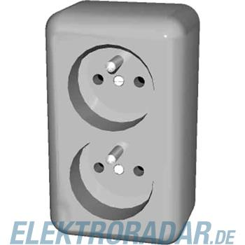 Elso Steckdose 2fach AP ELG395700