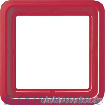 Jung Rahmen 1-fach rot CD 581 WU RT