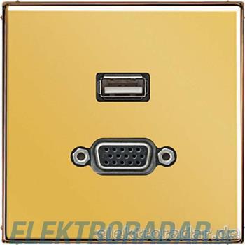 Jung Multimedia-Anschluss gold MA GO 1183