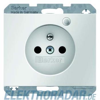 Berker Steckdose Glas pws/gl 6765097009