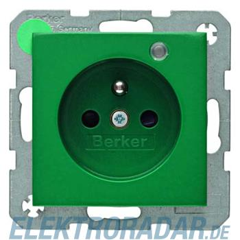 Berker Steckdose gn/gl 6765098913