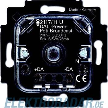 Busch-Jaeger DALI-Potenziometer-Einsatz 2117/11 U