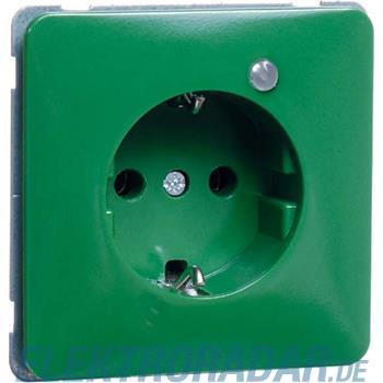 Peha Steckdose SCHUKO grün H 80.6511.42 LED/4