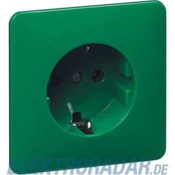Peha Steckdose SCHUKO grün H 80.6611 SI GRÜN