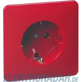 Peha Steckdose SCHUKO rot D 80.6611 SI ROT