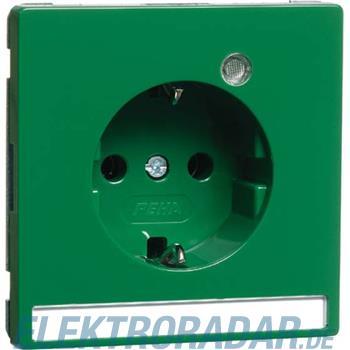 Peha Steckdose SCHUKO grün H 95.6511.42 LED/4NA