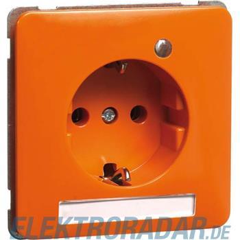 Peha Steckdose SCHUKO orange H 80.6511.33 SI NA LED EK 6