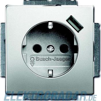 Busch-Jaeger Schuko/USB-Steckdose 20 EUCBUSB-866