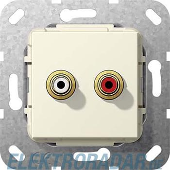 Gira Cinch Audio Lötanschluss 563201