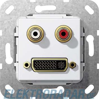 Gira UP Tragring DVI und Cinch 564603