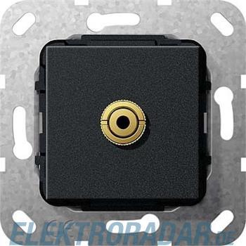 Gira Miniklinke 3,5mm sw matt 564910