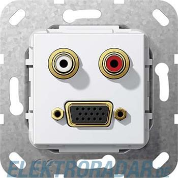 Gira VGA Cinch Audio rws 565603