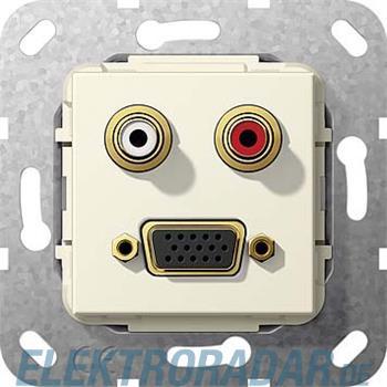 Gira VGA Cinch Audio cws 565701