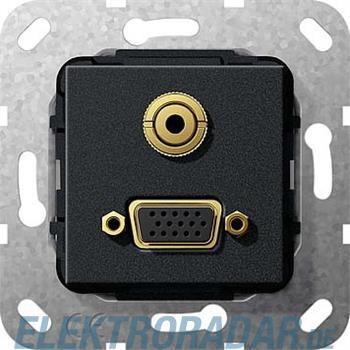 Gira VGA Miniklinke sw matt 565810