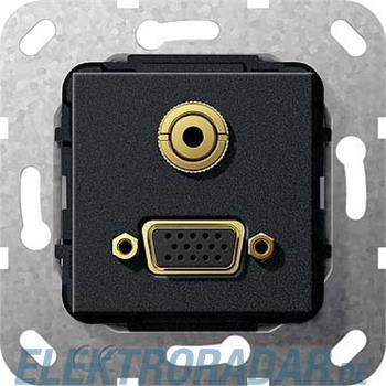 Gira VGA Miniklinke sw matt 565910