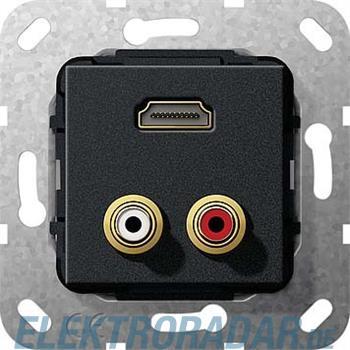 Gira UP Tragring HDMI+C Audio 567410