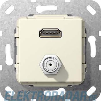 Gira UP Tragring HDMI und SAT 567501