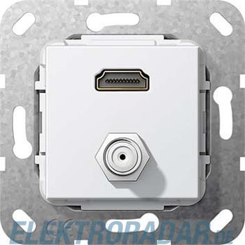 Gira UP Tragring HDMI und SAT 567503