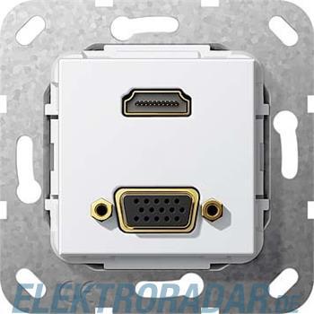 Gira UP Tragring HDMI und VGA 567703
