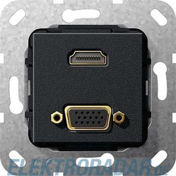 Gira UP Tragring HDMI und VGA 567710