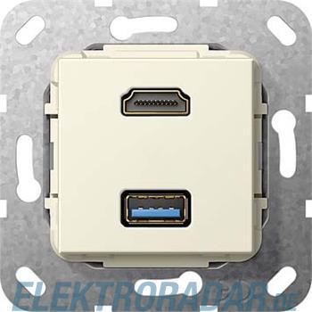 Gira UP Tragring HDMI und USB A 567801
