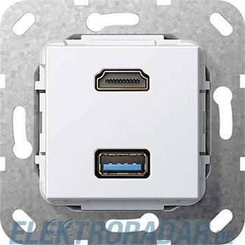 Gira UP Tragring HDMI und USB A 567803
