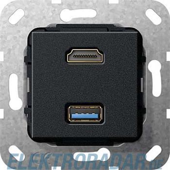 Gira UP Tragring HDMI und USB A 567810