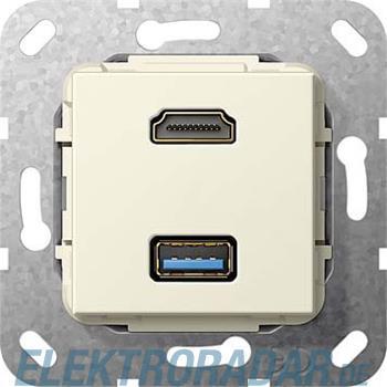 Gira UP Tragring HDMI und USB A 567901