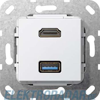 Gira HDMI USB 3.0 A Kabelpeit. 567903