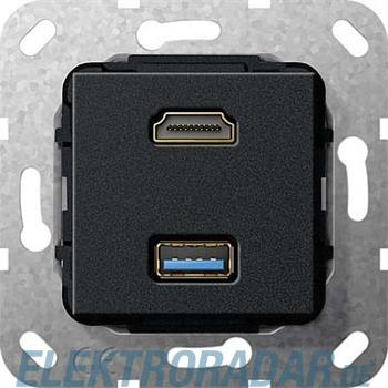 Gira UP Tragring HDMI und USB A 567910
