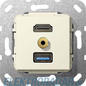 Gira UP Tragring HDMI und USB A 568001