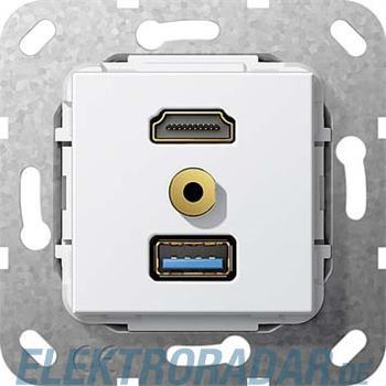 Gira UP Tragring HDMI und USB A 568003