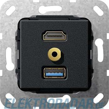 Gira UP Tragring HDMI und USB A 568010
