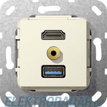 Gira UP Tragring HDMI und USB A 568101