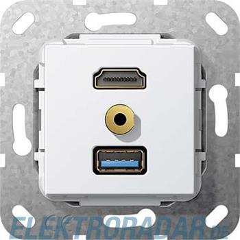 Gira UP Tragring HDMI und USB A 568103
