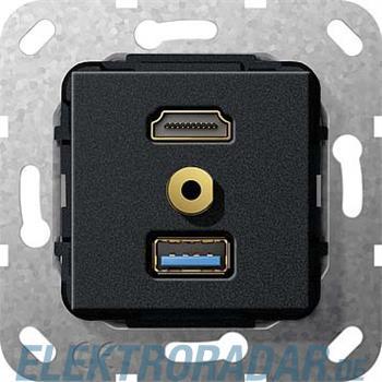 Gira UP Tragring HDMI und USB A 568110