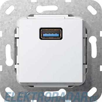 Gira UP Tragring USB A rws 568203