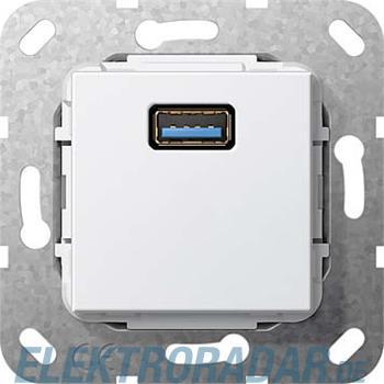 Gira USB- Einsatz 3.0 Typ A reinweiß 568303