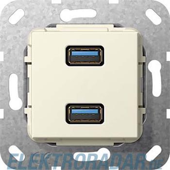 Gira USB 3.0 A 2fach cws 568401
