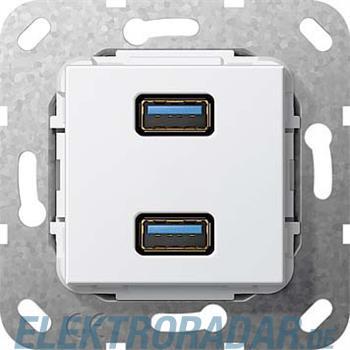 Gira USB 3.0 A 2fach rws 568403