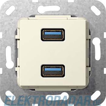 Gira USB 3.0 A 2fach cws 568501