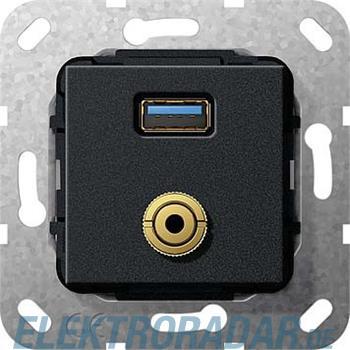 Gira UP Tragring USB A Klinke 568610