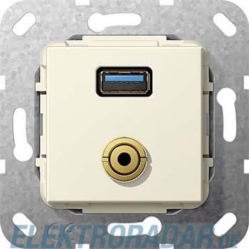 Gira UP Tragring USB A Klinke 568701