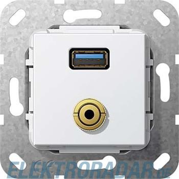 Gira UP Tragring USB A Klinke 568703