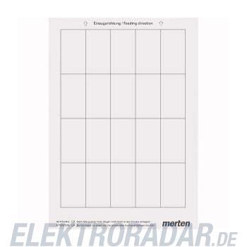 Merten Beschriftungsbogen ws MEG4062-3500
