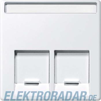 Merten Zentralplatte 2fach MEG4574-0419